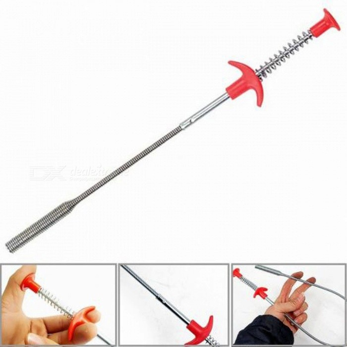 4-Claw 60cm Long Reach Flexible Pick Up Tool, Spring Grip Narrow Bend Curve Grabber for Picking Up Nuts And Bolts Mayitr