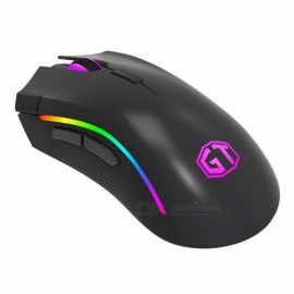 Delux M625 7 Buttons 12000DPI 12000FPS Optical USB Wired Desktop Gaming Mouse Mice w/ RGB Backlit for Game Player PMW3325