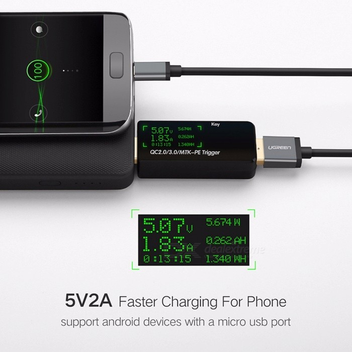ugreen micro usb cable fast charge usb data charging cable 3m 2m 1m android usb charging cable. Black Bedroom Furniture Sets. Home Design Ideas