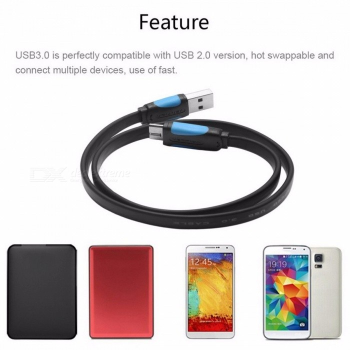 vention micro usb 3 0 kabel schnellladung ladedaten synce kabel f r samsung galaxy s5 note 3. Black Bedroom Furniture Sets. Home Design Ideas