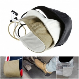 Unisex Car Accessory Shoe Heel Protector High Quality Soft Shoes Cover Protection for Your Valuable Shoes  black