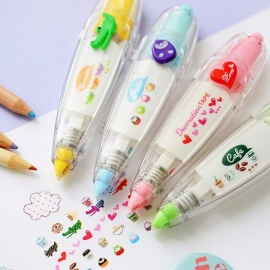 Cute correction tape masking Cartoon animal Decoration tapes for diary stickers scrapbooking stationery School supplies A6514 Random designs