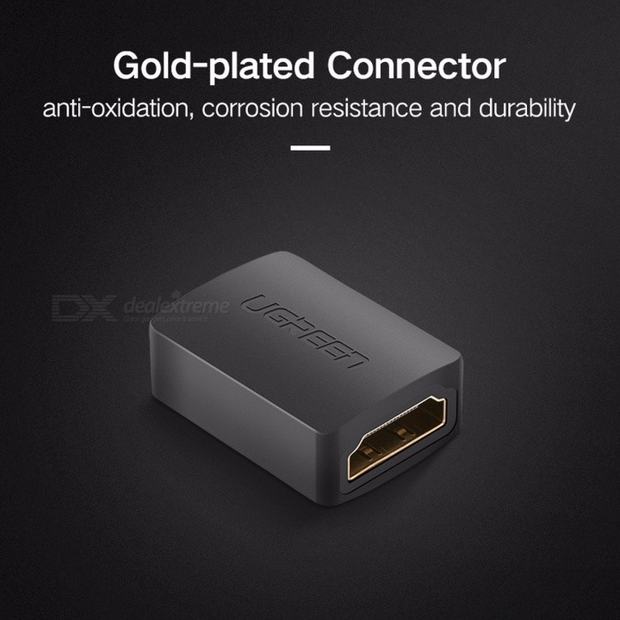 Ugreen Portable Premium 1080P HD HDMI Female to Female Adapter Coupler Connector Converter for HDTV