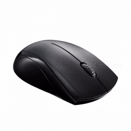 Rapoo 1650 2.4Ghz Wireless Optical Mouse with Silent Click, 1000 DPI Ergonomic Noiseless Mice for Mac PC Laptop Computer Game White