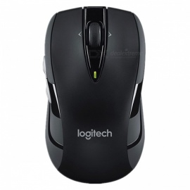 Logitech M545 Portable 1000 DPI 2.4Ghz USB Optical Wireless Mouse, Silent Gaming Mice for Computer Laptop Blue