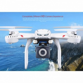 MJX X101 Quadcopter 2.4G RC drone/drone rc helicopter 6-axis gyro can add C4018 camera(FPV) vs JJRC H16 Tarantula x6 V686G White