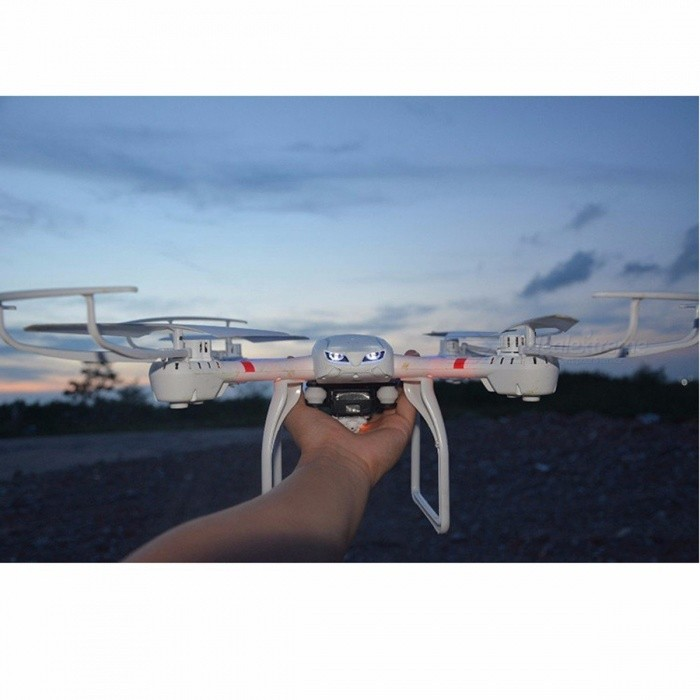 MJX X101 Quadcopter 2.4G R/C Headless Drone / Helicopter 6-axis Gyro Can Add C4018 Camera (FPV), 3D Roll, One Key Return