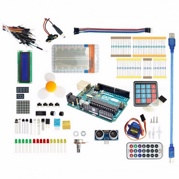 Arduino starter kit for uno r g server
