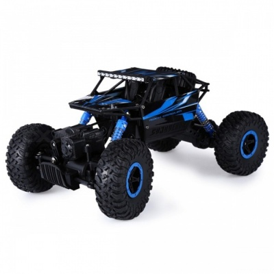 Minii 2.4G 4CH 4WD 4x4 RC Driving Car w/ Double Motors, Remote Control Drive Bigfoot Car Model Off-Road Vehicle Truck Toy EU Plug Red
