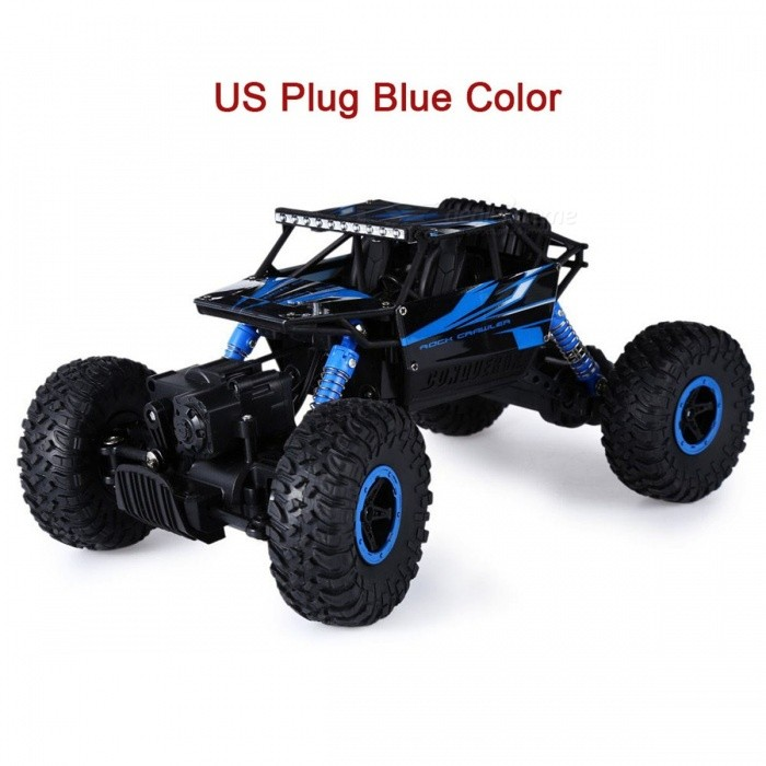 Minii 2.4G 4CH 4WD 4x4 RC Driving Car w/ Double Motors, Remote Control Drive Bigfoot Car Model Off-Road Vehicle Truck Toy