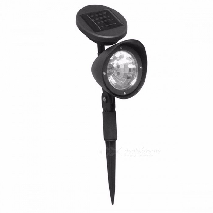 ICOCO Outdoor 3-LED IP44 Solar Powered Spotlight Garden Landscape Lawn Yard Path Spot Light Decorative Auto On Light Lamp