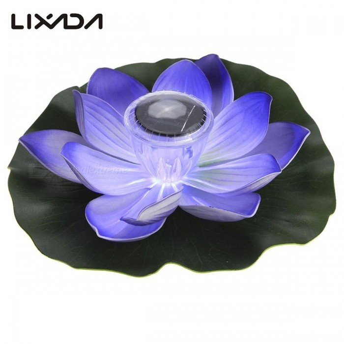 0.1W Solar Powered Multi-Colored LED Lotus Flower Lamp, RGB Water Resistant Outdoor Floating Pond Night Light for Garden Pool RedSolar Lamps<br>Description<br><br><br><br><br>Brand Name: LIXADA<br><br><br>Usage: Holiday<br><br><br><br><br>Body Material: PC<br><br><br>Solar Cell Type: Lithium Battery<br><br><br><br><br>Light Source: LED Bulbs<br><br><br>Style: Art Deco<br><br><br><br><br>Protection Level: IP65<br><br><br>Base Type: E27<br><br><br><br><br>Is Bulbs Included: Yes<br><br><br>Is Dimmable: No<br><br><br><br><br>Voltage: 6V<br><br><br>Certification: CCC,RoHS<br><br><br><br><br>Power Source: Solar<br><br><br><br><br><br><br><br><br><br><br><br>This solar powered colorful lotus flower lamp can make your makes your <br>pond and garden looks elegant and vibrant all the time with its vivid <br>lotus shape and RGB LED. In addition, solar powered, light control, IP <br>65 water resistant, weather proof make it suitable for your garden pool <br>or pond.&amp;nbsp;<br><br>Features:<br>LOTUS DESIGN: vivid lotus<br> shaped and RGB LED is perfect for decorating and lighting your garden <br>pond and its also an ideal wishing lamp, beautiful and warm.<br>MULTI-COLORED:<br> 7 colors rotating and different lamp color to choose, floating on the <br>water and rotating with wind, it makes your pond and garden looks <br>elegant and vibrant all&amp;nbsp;the time.<br>SOLAR POWERED: its powered by <br>sunlight and stores power for night lighting with built-in 600mA Ni-MH <br>AA battery, no need wiring and other tools, cost efficient and <br>power&amp;nbsp;saving.<br>LIGHT CONTROL: it adopts light sensor technology, which<br> means that it can auto on in the darkness and auto off in the sunrise, <br>simple to control.<br>WIDE APPLICATION: IP 65 water resistant, <br>weather-proof, a ball under the lamp bottom with wire is designed to <br>prevent the lotus lamp from moving or tilting, so its suitable for&amp;nbsp;your<br> garden pool or pond.&amp;nbsp;<br><br>Specifications:<br>Solar panel: 2 V 40MA polycrystalline silicon solar panel<br>Wattage: 0.1 W<br>Light source: LED<br>LED quantity: 1 pcs<br>Charging duration: 6-8 hours<br>Working time: 6-8 hours<br>Switch type: Light control<br>Luminous flux: 20 LM<br>Illuminating distance: 0.5M<br>Beam angle: 160 degree<br>Battery: 1 * Ni-MH AA battery 1.2 V / 600 mAH (included)<br>Protection grade: IP65<br>Lifespan: Approx. 20,000 hours<br>Material: PC<br>Lamp color: Red, pink, purple, yellow (optional)<br>Solar panel diameter: 8.0 cm / 3.2 in<br>Lamp diameter: 28.0 cm / 11.0 in<br>Lamp weight: 120 g / 4.2 oz<br>Package size: 12.9 * 12.7 * 12.5 cm / 5.1 * 5.0 * 4.9 in (L * W * H)<br>Package weight: 158 g / 5.6 oz<br><br>Note:<br>Please turn on the switch to make sure that the light can be charged effectively in the daylight.<br><br>Package list:<br>1 * Solar Powered Multi-colored Lotus Flower Lamp<br>1 * User Manual (English)<br>