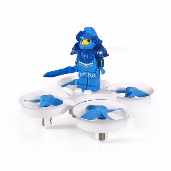 Eachine E011 Mini 2.4GHz Headless Mode RC Quadcopter RTF with 60000RPM 716 Coreless Motor Toy Gift for Children White Blue Mode 2R/C Airplanes&amp;Quadcopters<br>Description<br><br><br><br><br>Type: Helicopter<br><br><br>Features: Remote Control,Model<br><br><br><br><br>Aerial Photography: No<br><br><br>Age Range: 8-11 Years,& 14 years old,12-15 Years,5-7 Years,Grownups<br><br><br><br><br>State of Assembly: Ready-to-Go<br><br><br>Package Includes: USB Cable,Charger,Original Box,Operating Instructions,Batteries,Remote Controller<br><br><br><br><br>Motor: Brush Motor<br><br><br>Material: Plastic,Metal<br><br><br><br><br>Control Channels: 4 Channels<br><br><br>Controller Mode: MODE2<br><br><br><br><br>Power Source: Electric<br><br><br>Remote Control: Yes<br><br><br><br><br>Brand Name: EACHINE<br><br><br><br><br><br><br><br><br><br><br><br>Quadcopter Size: 8.3x8.3x7.5cm&amp;nbsp;&amp;nbsp; &amp;nbsp;<br>Box Size: 14x8.6x11cm&amp;nbsp;&amp;nbsp; &amp;nbsp;<br>Gyro: 6-axis&amp;nbsp;&amp;nbsp; &amp;nbsp;<br>Frequency: 2.4G&amp;nbsp;&amp;nbsp; &amp;nbsp;<br>Channel:4CH&amp;nbsp;&amp;nbsp; &amp;nbsp;<br>Battery: 3.7V 35C 260MAH (included)&amp;nbsp;&amp;nbsp; &amp;nbsp;<br>Transmitter Power: 3 x 1.5V AAA battery(not included)&amp;nbsp;&amp;nbsp; &amp;nbsp;<br>Flight time: about 5 minutes&amp;nbsp;&amp;nbsp; &amp;nbsp;<br>Charging time: about 40 minutes&amp;nbsp;&amp;nbsp; &amp;nbsp;<br>Flying distance: 50 meters&amp;nbsp;&amp;nbsp; &amp;nbsp;<br>&amp;nbsp;<br>Features:&amp;nbsp;&amp;nbsp; &amp;nbsp;<br>With brick element, can foster childs DIY ability and make more fun.&amp;nbsp;&amp;nbsp; &amp;nbsp;<br>With 60000RPM double ring high-intensity 716 motor provide strong power.&amp;nbsp;&amp;nbsp; &amp;nbsp;<br>WIth two roles can be chosen and play with others, MINI size, can carry it in the po cket.&amp;nbsp;&amp;nbsp; &amp;nbsp;<br>With two different flight mode available.&amp;nbsp;&amp;nbsp; &amp;nbsp;<br>With Headless Mode, no need to adjust the position of aircraft before flying.&amp;nbsp;&amp;nbsp; &amp;nbsp;<br>With bright colorful LED light, make it more dazzle beautiful and colorful night light.&amp;nbsp;&amp;nbsp; &amp;nbsp;<br>One key return function makes it easily to find the way home.&amp;nbsp;&amp;nbsp; &amp;nbsp;<br>Function: up / down / left turn / right turn / forward / back / left side fly / right side fly / speed file/ 360 ° flip/ a key return / headless mode &amp;nbsp;&amp;nbsp; &amp;nbsp;<br>&amp;nbsp;<br>Package included:&amp;nbsp;&amp;nbsp; &amp;nbsp;<br>1x Quadcopter &amp;nbsp;&amp;nbsp; &amp;nbsp;<br>1x Transmitters<br>1x Building blocks<br>1x USB cable &amp;nbsp;&amp;nbsp; &amp;nbsp;<br>4x Propeller&amp;nbsp;&amp;nbsp; &amp;nbsp;<br>1x Screwdriver&amp;nbsp;&amp;nbsp; &amp;nbsp;<br>1x Manual&amp;nbsp;&amp;nbsp;&amp;nbsp;<br>