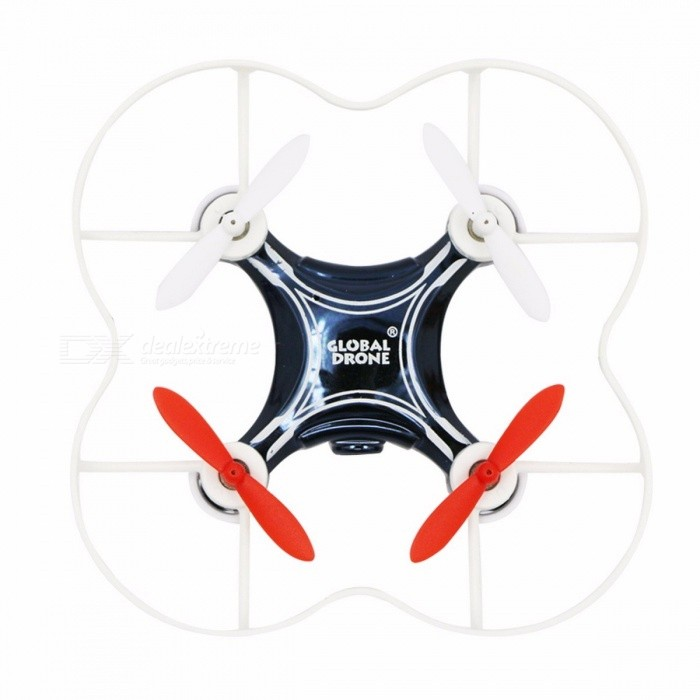 GW009C-1 Remote Control Mini Drone Quadcopter with HD Camera Altitude Holder RC Helicopter Drone Quadrocopter BlueR/C Airplanes&amp;Quadcopters<br>Description<br><br><br><br><br>Type: Helicopter<br><br><br>Features: Remote Control,Shatter  Resistant<br><br><br><br><br>Aerial Photography: No<br><br><br>Age Range: 8-11 Years,& 14 years old,& 8 years old,12-15 Years,Grownups<br><br><br><br><br>State of Assembly: Ready-to-Go<br><br><br>Package Includes: USB Cable,Original Box,Camera,Operating Instructions,Batteries,Remote Controller<br><br><br><br><br>Motor: Brush Motor<br><br><br>Material: Plastic,Metal<br><br><br><br><br>Control Channels: 4 Channels<br><br><br>Controller Mode: MODE2<br><br><br><br><br>Brand Name: Global Drone<br><br><br>Power Source: Electric<br><br><br><br><br>Remote Control: Yes<br><br><br><br><br><br><br><br><br><br>Controller Battery: 4*AAA batteries(not include) <br><br><br>Charging Voltage: 3.7v <br><br><br>Charging Time: 20-30min <br><br><br>Dimensions: 7.5*7.5*2.5cm <br><br><br>Drone size: 7.5*7.5*2.5cm <br><br><br>type: mini 2.4g 4ch <br><br><br>Function: flying  up and down overturn as a bee <br><br><br>HD Camera: Support <br><br><br>Easy control Drone : YES <br><br><br>Features:<br>- 0.3MP camera: attached with a camera for better quality images and videos. You can use it to capture different specific details and findings as you like.<br>- 3D unlimited version: the drone will flip forward / backward / leftward / rightward according to your instructions.<br>- 6-axis gyro control system: with built-in 6D gyro system, this drone has the characteristic of stable flight and easy operation. <br>- Long in remote control distance: adopts 2.4G auto connection technology, its remote control distance is about 50 meters.<br>- Compact in size: you can carry it anytime and anywhere as you like!<br>&amp;nbsp;<br>Specification: <br>- Model: Global Drone GW009C-1<br>- Charging time: about 30 minutes<br>- Flying time: about 6 minutes<br>- Frequency: 2.4GHz<br>- Gyro system: 6-Axis<br>- Motor: brush motor<br>- Flight battery: 3.7V 120mAh lithium-ion battery ( included )<br>- Transmitter battery: 2 x AAA battery ( not included )<br>ge Range: & 14 Years old<br>Control Channels: 4 Channels<br>Controller Mode: MODE2<br>Material: Metal,Plastic<br>Package weight: 0.259 kg<br>Product Size(L x W x H): 7.50 x 7.50 x 2.50 cm / 3.74 x 3.74 x 0.98 inches<br>Package Contents: 1 x Quadcopter, 1 x Transmitter, 1 x Set of Propellers, 1 x USB Cable, 1 x Screwdriver, 1 x Bilingual User Manual in English and Chinese<br>Product Safety Disclaimer:<br>We do not accept any responsibility or liability for misuse of this or any other product. All our products are extensively tested to comply with rigorous and strict QC standards. For certain products (e.g. toys, knives, etc.), we recommend proper supervision as we cannot be held liable for misuse or accidents.<br>Notice:<br>Please ensure the RC device is correctly calibrated before first time use. Any damage caused by misuse and/or general wear and tear is not covered by the warranty.<br>Small Parts Disclaimer:<br>These toys contain small parts, not for children under 3 years in case of swallowing.<br>