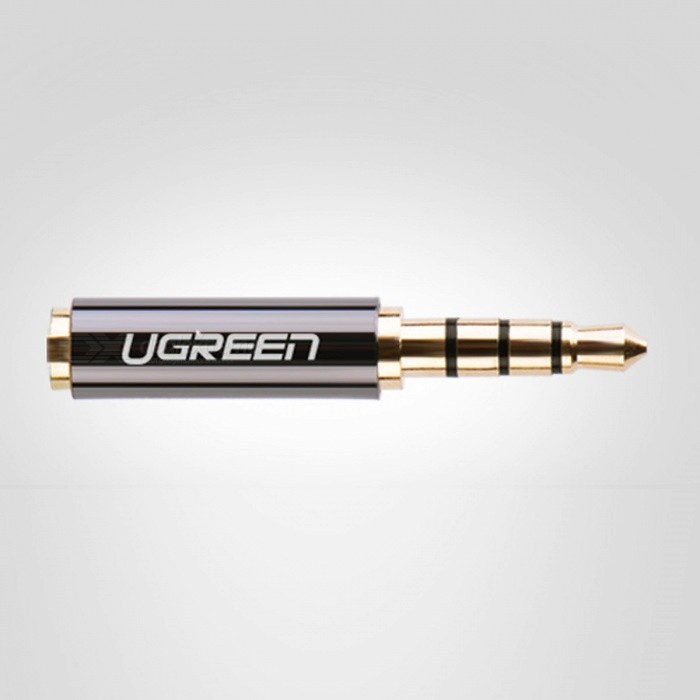 Ugreen High Quality 3.5mm Male to 2.5mm Female Audio Adapter 4 Conductors Phone Earphone Stereo Connector Adapter