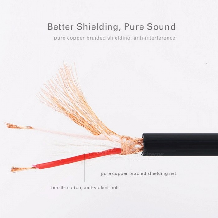 Ugreen Microphone Audio Sound Cannon Cable, XLR Male to Female Extension Aux Cable for Mixer Stereo Camera Amplifier