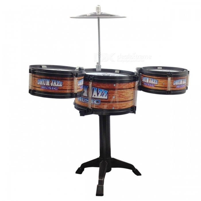 global drone diy jazz drum toy cymbal sticks rock set musical hand drum funny drum gift toy for. Black Bedroom Furniture Sets. Home Design Ideas