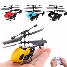 Global Drone 3.5CH Mini RC Helicopter Micro Infrared Helicopter with Gyroscope, Pocket-Size RC Drone Aircraft Yellow