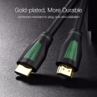 Ugreen Mini 1080P 3D 4K HD HDMI Male to HDMI Male 1.4 Cable for PS3 Projector HD LCD Apple TV Computer 8m/Black