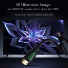 Ugreen Mini 1080P 3D 4K HD HDMI Male to HDMI Male 1.4 Cable for PS3 Projector HD LCD Apple TV Computer 2m/Black