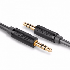 Ugreen 3.5mm Jack Aux Cable Auxiliary Cord, Gold Plated Male to Male 3.5mm Audio Cable for Speaker Headphone TV DVD Amplifer 3m