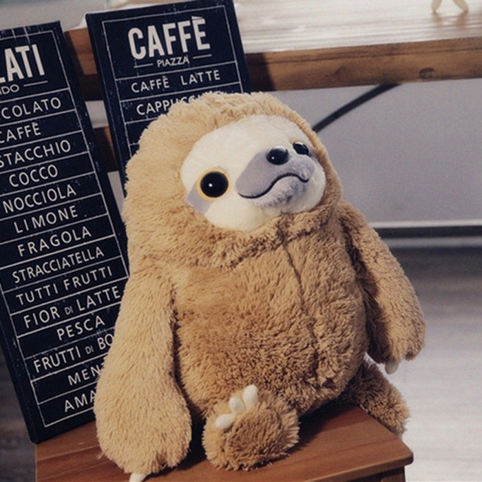 74a6b957d47 ... New Cute Lovely Sloth Plush Toy Doll