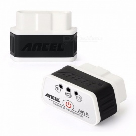 ancel icar ELM327 wi-fi OBD 2 automobilový diagnostický scanner nástroj adaptér pro Windows a iOS IPhone IPAD ancel icar wifi whit