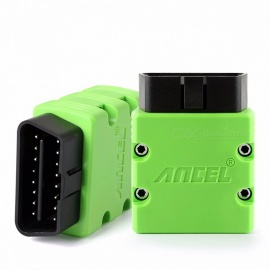 Ancel AN100 V1.5 ELM327 Bluetooth Scanner Tool OBD 2 OBD2 OBDII Car Code Reader for Android Phone Tablet Laptop Black