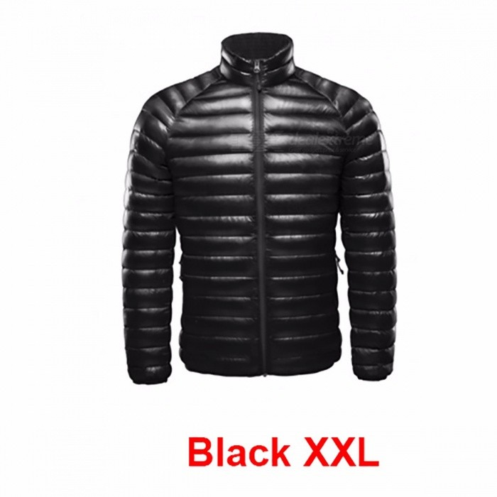 Xiaomi Warm Down Jacket Feather Dress Coat for Men, One Weaving Thin White Duck DownJacket for Smart Home
