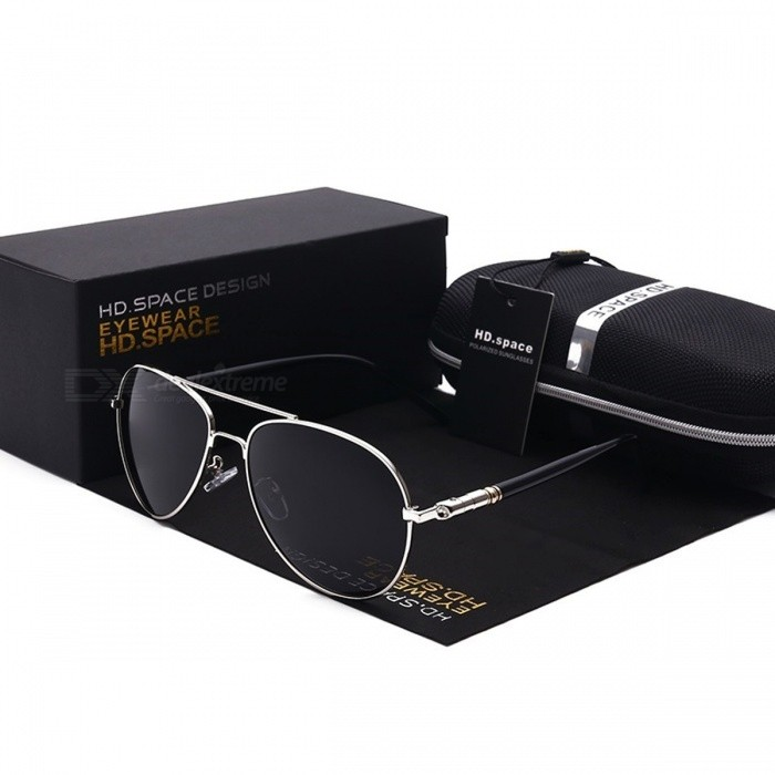 Vintage Coating Mirror UV400 Protective Polarized Sun Glasses Sunglasses for Men, Aviator Sunglasses for Driving BlackSunglasses<br>Description<br><br><br><br><br>Eyewear Type: Sunglasses<br><br><br>Item Type: Eyewear<br><br><br><br><br>Department Name: Adult<br><br><br>Frame Material: Alloy<br><br><br><br><br>Lenses Material: Polycarbonate<br><br><br>Gender: Men<br><br><br><br><br>Style: Pilot<br><br><br>Lenses Optical Attribute: Mirror,Polarized,UV400<br><br><br><br><br>Brand Name: HD.space<br><br><br><br><br><br><br><br><br><br><br><br>&amp;nbsp;HD<br> Polarized Lens: UV400 protection lenses blocks 99.5 - 100% harmful UVA,<br> UVB &amp;amp; UVC rays. A special &amp;nbsp; &amp;nbsp; &amp;nbsp;polarized filter blocks over 99.96% <br>of glare.&amp;nbsp; <br><br>•&amp;nbsp;High<br> Quality Frame: made with metallic alloy that is ultra light weight yet <br>strong and durable. Spring loaded &amp;nbsp; &amp;nbsp;hinges and rubber wrapped legs <br>ensuring maximum comfort.&amp;nbsp;<br><br><br>•<br> Being Polarized and 400UV protection makes these sunglasses the perfect<br> choice for outdoor sports and &amp;nbsp;&amp;nbsp;activities such as driving, fishing, <br>skiing, traveling, hiking, boating, and is suitable as high fashion <br>accessory &amp;nbsp; &amp;nbsp;and daily wear all year round.<br><br><br>•&amp;nbsp;Frames<br> and lens are unbreakable for no risk purchasing. In case any broken <br>problem happens, contact the &amp;nbsp;&amp;nbsp;seller of KAITHDYA&amp;nbsp;without hesitation to <br>solve the problem until satisfaction. We provides lifetime after &amp;nbsp;&amp;nbsp;sale <br>service for all KAITHDYA&amp;nbsp;products.<br><br><br>CARE&amp;nbsp;<br><br><br>•&amp;nbsp;To<br> avoid damage, never clean your sunglasses with paper towels or <br>clothing, and also avoid using household &amp;nbsp;&amp;nbsp;detergents or soaps. While a <br>few mild soaps dont harm lenses, todays extra strength soaps are <br>powerful &amp;nbsp;&amp;nbsp;enough to slowly disintegrate