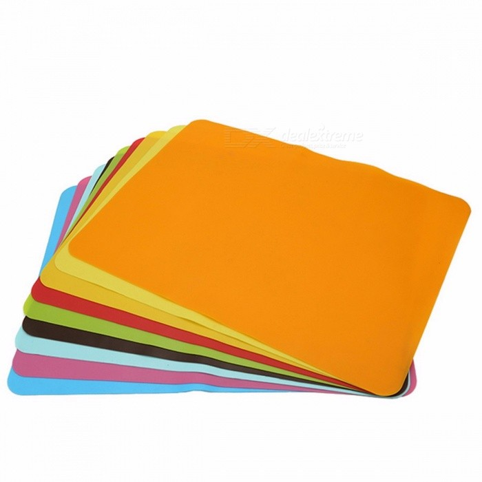 YOTOP 40*30cm Premium Baking Liner Silicone Oven Mat, Heat Insulation Pad, Non-stick Cooking Bakeware Tool Random ColorSilicone Supplies<br>Description<br><br><br><br><br>Type: Baking &amp;amp; Pastry Tools<br><br><br>Certification: CIQ,FDA,CE / EU<br><br><br><br><br>Feature: Stocked,Eco-Friendly<br><br><br>Kit Number: 1<br><br><br><br><br>Brand Name: YOTOP<br><br><br>Material: Silicone<br><br><br><br><br>Baking &amp;amp; Pastry Tools Type: Baking Mats &amp;amp; Liners<br><br><br><br><br><br><br><br><br><br><br><br><br>Features<br><br><br>1.<br> Material: The use of food-grade environmentally friendly silicone <br>material production, through SGS, FDA, LFGB, RoHS, ISO and other quality<br> inspection, 100% in line with international safety standards, can <br>directly contact with people.<br><br><br>2. Size: 40x30x0.1cm (plus or minus 0.03cm)<br><br><br>3. Waterproof: 100% waterproof silicone pad.<br><br><br>4. drop: the product is soft, not afraid of throwing.<br><br><br>5. Color: Random<br><br><br>6. Good texture: silicone feels comfortable and soft.<br><br><br>7. easy to clean: scrub with water or brush, you can clean, very convenient.<br><br><br>8. Work solid: not easy to deformation, anti-aging.<br><br><br>9.<br> Insulation: silicone has excellent high temperature and low temperature<br> stability, low temperature -40 degrees, high temperature 230 degrees.<br><br><br>10.Logo: customizable (monochrome)<br><br><br>&amp;nbsp;<br><br><br>Package Included:<br><br><br>1x Silicone Oven Mat&amp;nbsp;<br><br><br>&amp;nbsp;<br><br><br>Tips:<br><br><br>1. Clean with a detergent before initial use.<br><br><br>2. Do not place this product directly on the open flame, so as to avoid deformation of the product.<br><br><br>3. Do not cut the product with a knife or other sharp thing.<br><br><br>4. Keep in a dark place.<br><br><br>&amp;nbsp;<br>