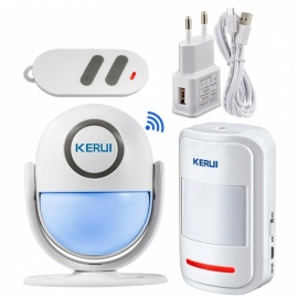 Smart Home Wi-Fi App Control Burglar Alarm System, Door PIR Motion Detector Alarm Wireless Home LED Flash Light Security  KIT3