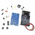76MHz-108MHz Wireless Stereo FM Radio Kit, Audio Receiver PCB FM Module Set Learning Electronics for DIY, DC 1.8-3.6V blue