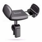 Baseus 360 Adjustable Car Phone Holder For iPhone 6 7 Plus Sumsung S8 Mini Mobile Phone Stand holder Air Vent Phone Holder Car Black