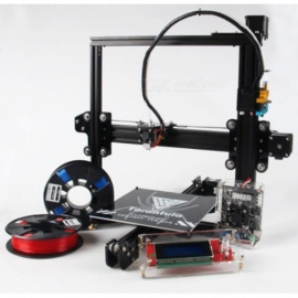2017 Classic TEVO Tarantula I3 Aluminium Extrusion 3D Printer Kit, 3D Printing 2 Roll Filament SD card Titan Extruder As Gift Standard Printer