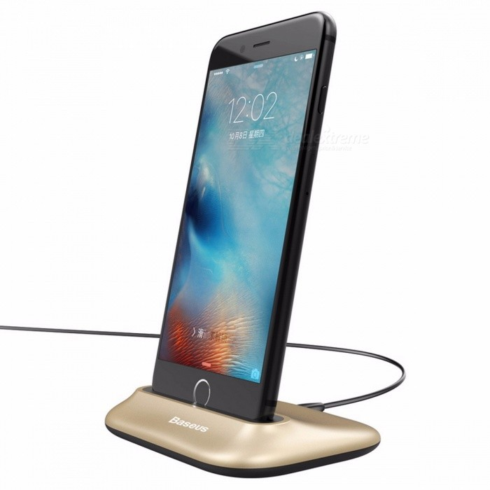 Baseus Mini Data Sync Docking Charger Charging Dock Station Desktop Holder Stand For Iphone 5