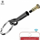 Baseus Mini Infrared Wireless Remote Control for IPHONE5 5s 6 6s, 3.5mm Aux Jack Universal Smart Infrared Remote Control for TV Black Gold
