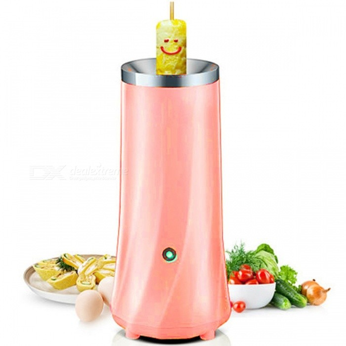 WOWCC Creative Electric Egg Boiler, Automatic Egg Roll Maker, Egg Omelette Master Sausage Machine, Breakfast Egg DIY Tool