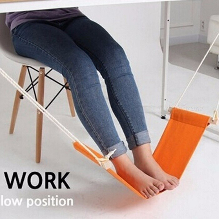 Leisure Home Office Foot Rest Desk Feet Hammock Surfing the Internet Hobbies Outdoor Rest The Welfare of Office