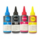 100ml Universal Dye Ink For HP Premium Refill Ink Kit General for HP Printer Refillable Ink Cartridge and Ciss - 4PCS Refill Ink Kit