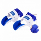 Bunion Device Hallux Valgus Orthopedic Braces, Night Foot Care Toe Corrector for Thumb Goodnight Daily Big Bone Orthotics White + Blue