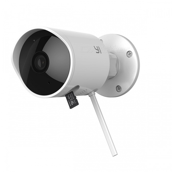 YI 1080P HD Waterproof Outdoor Security Wireless IP Camera Cloud Cam w/ Night Vision, Security Surveillance System