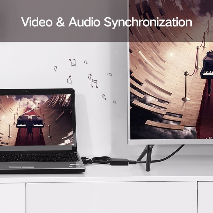 how to connect laptop to projector without vga cable