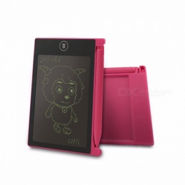 "4.4"" Mini Portable Digital LCD Writing Tablet, Electronic Handwriting Pad, Message Doodle Memo Graphics Graffiti Drawing Board Pink"