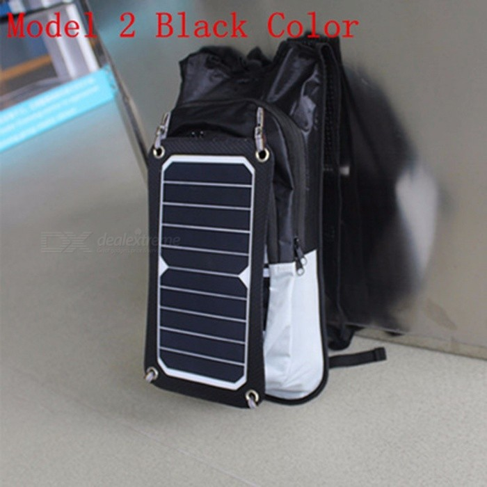 f404e5a81dd New Sport Cycling Water Bag Outdoor Solar Panel USB Charger Bicycle  Hydration Backpack Knapsack for Moible