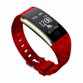 LUOKA S2 IP67 Waterproof Bluetooth Sport Smartband Smart Band Bracelet Wristband w/ Heart Rate Monitor for IPHONE Android Black