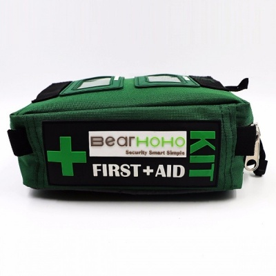 BearHoHo 165-Piece Handy First Aid Kit Bag Lightweight Emergency Medical Rescue Outdoors Car Luggage School Hiking Survival Kits EMPTY BAG