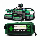BearHoHo 165-Piece Handy First Aid Kit Bag Lightweight Emergency Medical Rescue Outdoors Car Luggage School Hiking Survival Kits WITH ITEMS