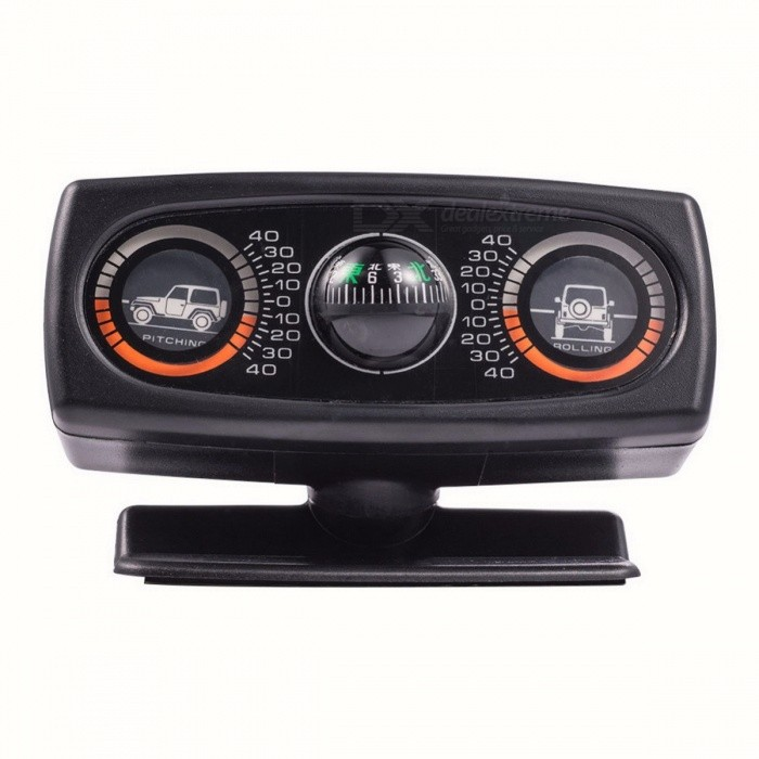Car Vehicle Inclinometer Compass Car Accessories Inclination Tool ...