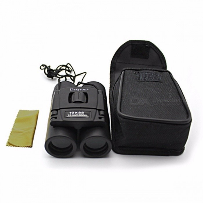 Outdoor 10X22 Binoculars Professional Hunting Telescope High Quality Vision No Infrared Eyepiece for Fishing Spotting Scope